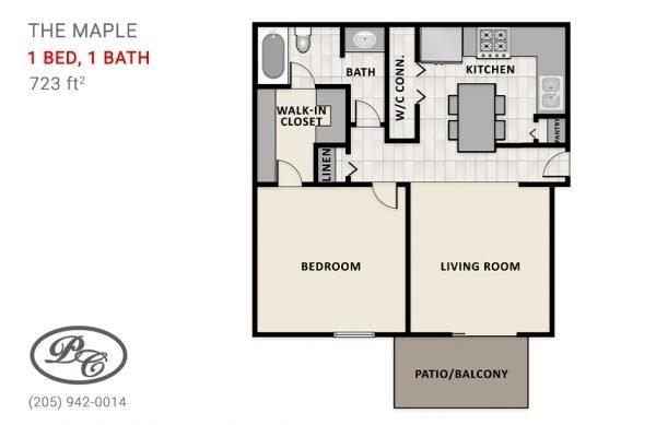 1 Bedroom Apartments Under 1200