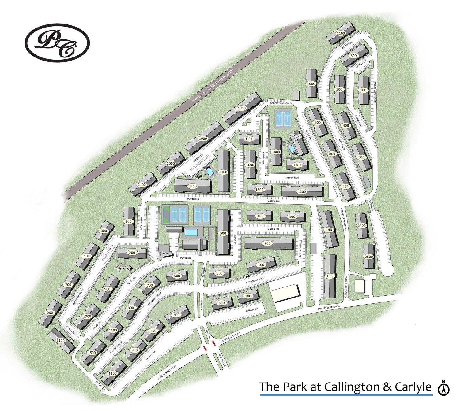 The Park at Callington & Carlyle -