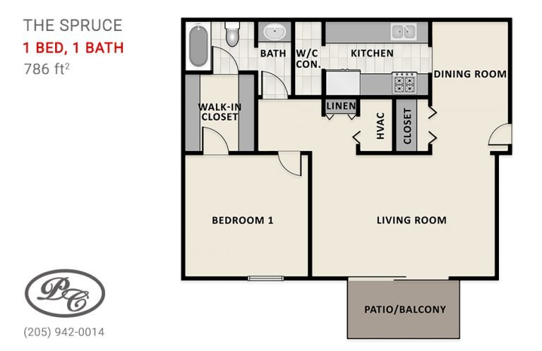 1 Bedroom High Quality Apartments In Birmingham