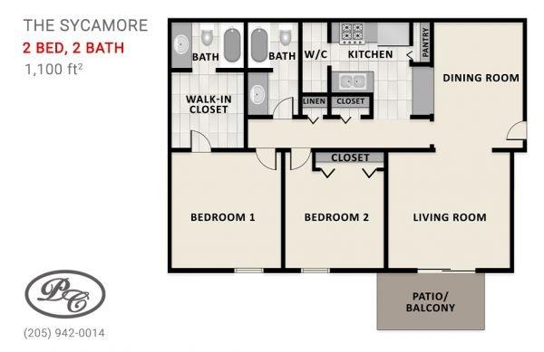 2 Bedroom Apartments In Birmingham